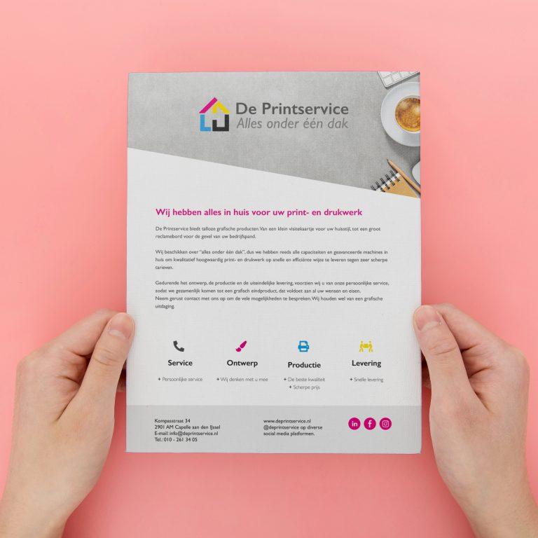 Cases 6 printservice flyer